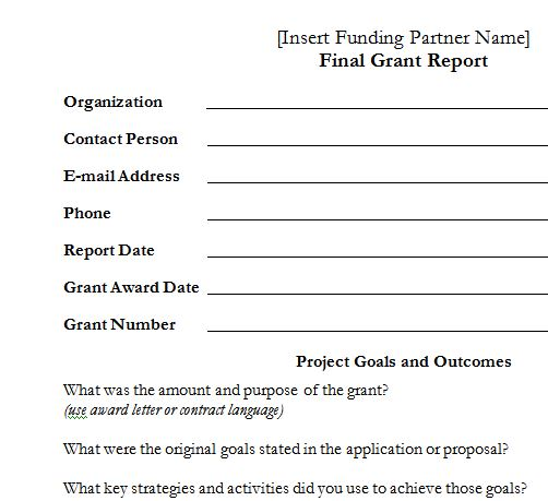Contact Report Template from upward-development.com